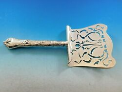 Les Cinq Fleurs By Reed And Barton Sterling Silver Asparagus Server Hooded Pierced