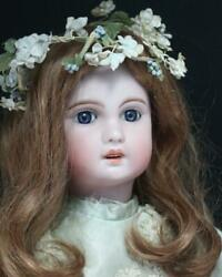 Antique Bisque Doll Gorl Woman Rare Collectible F/s Hobby Toy Japan F/s