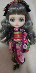 Customized Icy Doll Rare Collectible F/s Japan Figure Girl Gray Hair Matte Skin