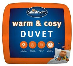 Silentnight Winter Warm And Cosy Duvet Bed Single Double King Super K 13.5 Tog
