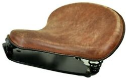 Indian Scount Spring Solo Mounting Kit With 15x14 Tractor Seat Distressed Brown