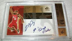 2003 SP Signature Edition INKcredible INK Auto 2125  BGS 9.5 10 RC Lebron James