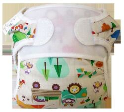 Camping Critters Reusable Swim Diaper- Swimmi By Bummis Size Small Fits 9-15lbs