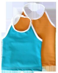 Tankini Turquoise Swim Top Fits 0-12 Months Made By Bummis