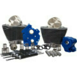 Sands 107 124 Oil Cooled Power Package Chain Drive Black Harley Touring Softail