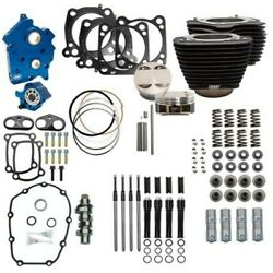 Sands 124 Oil Cooled Power Package Chain Drive Black Nh Harley Touring Softail