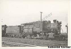 Crr Of Nj Cnj Central Railroad Of New Jersey 445 Bandw Photo 2188