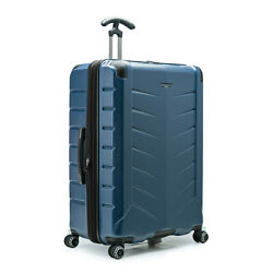 Silverwood Ii 30 Large Checked Anti-theft Expandable Spinner Luggage Suitcase