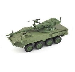 CHAR TANK DIECAST 1/72 EAGLEMOSS M1128 STRYKER USA NEW IN BLISTER PACKS 4 5/16in