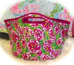 Beautiful *Lilly Pulitzer* Insulated Beach Bag amp; Cooler 💕PINK *Lucky Charms* $28.88