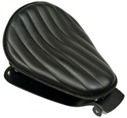 Sportster Spring Solo Tuck And Roll Leather Seat With Mounting Hardware Made Usa