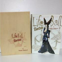 Vivienne Westwood Life Ball Barbie Doll Rare Collectible Limited Edition Wood