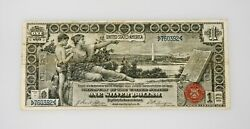 1896 1 Silver Certificate Educational Note Hard To Find In Any Condition