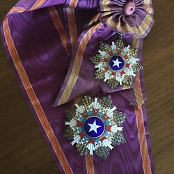 Order of the Brilliant Star 1st Class Grand Cross, China