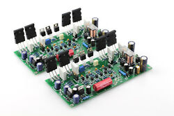 One Pair Assembled Xe350 Power Amplifier Board Base On Accuphase Amp 80w+80w