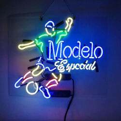 Neon Signs Modelo Especial Soccer Beer Bar Pub Party Store Decor For Gift 19x15