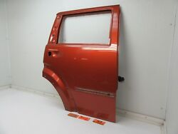 REAR DOOR PANEL SHELL BODY RED RIGHT PASSENGER SIDE BACK RR R fits 07-11 NITRO