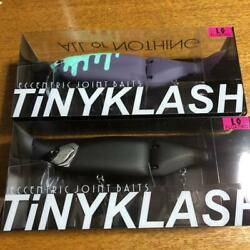 Tinyklash Fishing Bait Lure With Stickers Hobby Rare New Set Of 2 Japan F/s