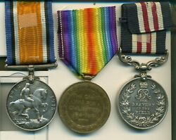 A Wwi Western Front Mm Group Of 3 Awarded To Corporal F Dodd 1st Canadian