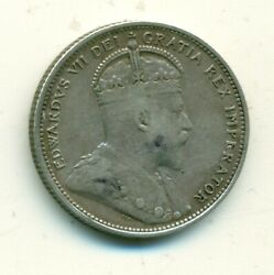 Canada 25 Cents 1905 Vf
