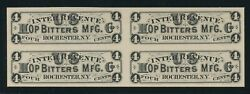 Rs131p3 4c Hop Bitters Co. India On Card Bu8966