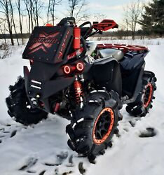 2016 - 2021 Can-am Renegade Xmr Low Profile Radiator Relocation Kit And Bumper