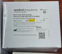 New Applied Biosystems Abi 7500 Pcr Systems Calibration Kit 4351151 Plus 4349180