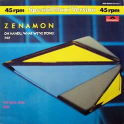 Zenamon Oh Nandu What We`ve Done / The Real Pink 12 Maxi Polydor 1984