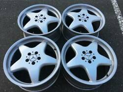 Rare Set Of Gorgeous Amg Monoblock Style 19 Aftermarket Rims In Good Used Cond