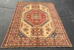8x11 Handknotted Kazak Style Area Rug At Raleigh Furniture Gallery