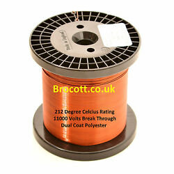 Enamelled Copper Wire 34awg To 12awg Magnet Wire 10kg Spools Free Post Uk