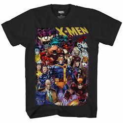 Marvel X-Men 90's Heroes & Villains All In Officially Licensed Adult T-Shirt $21.95