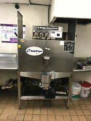Cma Dishmachines B-2 Double Rack Low Temperature, Chemical Sanitizing Straight