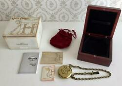 Harry Potter Pocket Watch Movie Collectible Rare Book F/s Hobby Decor