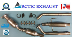 Fits 2009-2010 Pontiac Vibes 1.8l Catalytic Converter With Resonator Pipe