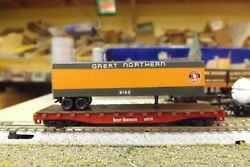 N-scale Custom Painted Great Northern Gn 45' Tofc