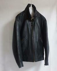 80's Issey Miyake Duetrio Horsehide Bomber Jacket Size M Vintage Rare From Japan