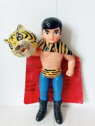 Tiger Mask Toy Japanese Vintage Toy Wrstler Character Figure Collectible F/s