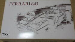 Ferrari 643 Diecast Model Kit 1.8 Big Scale Rare Collectible Japan Toy F/s
