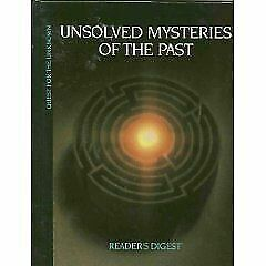 Unsolved Mysteries Of The Past By Readerand039s Digest Editors