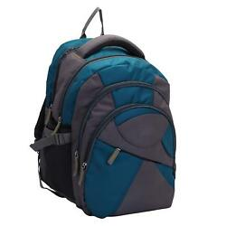 Ebon Laptop Backpack (Grey) Multi-Functional Pocket Design