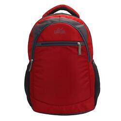 Summer Tourista Laptop Backpack (Red) Multi-Functional Pocket Design