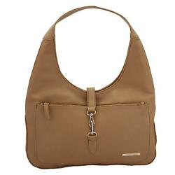 Fawn Women'S Handbag (Beige) Multi-Functional Pocket Design