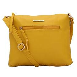 Timid Women'S Sling Bag (Yellow) Multi-Functional Pocket Design
