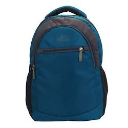 Neutral Luminary Laptop Backpack (Blue) Multi-Functional Pocket Design