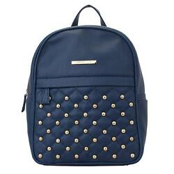 Dong Repeat Women Backpack (Blue) Multi-Functional Pocket Design