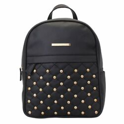 Dong Repeat Women Backpack (Black) Multi-Functional Pocket Design