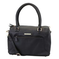 Women Handbag (Black) Multi-Functional Pocket Design