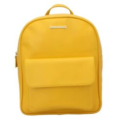 Helvus Women Backpack (Yellow) Multi-Functional Pocket Design