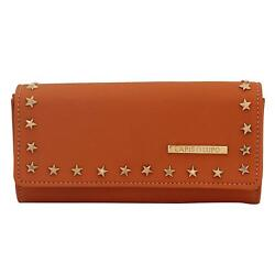 Sizzle Roast Women Clutch (Tan) Multi-Functional Pocket Design